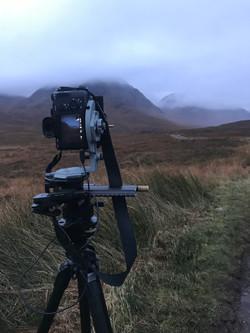 Shooting the moods in Glencoe