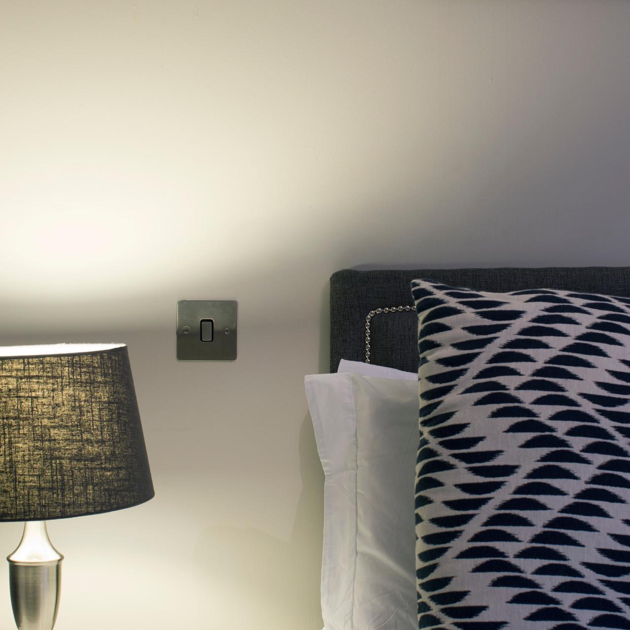 Interior photography, bedroom