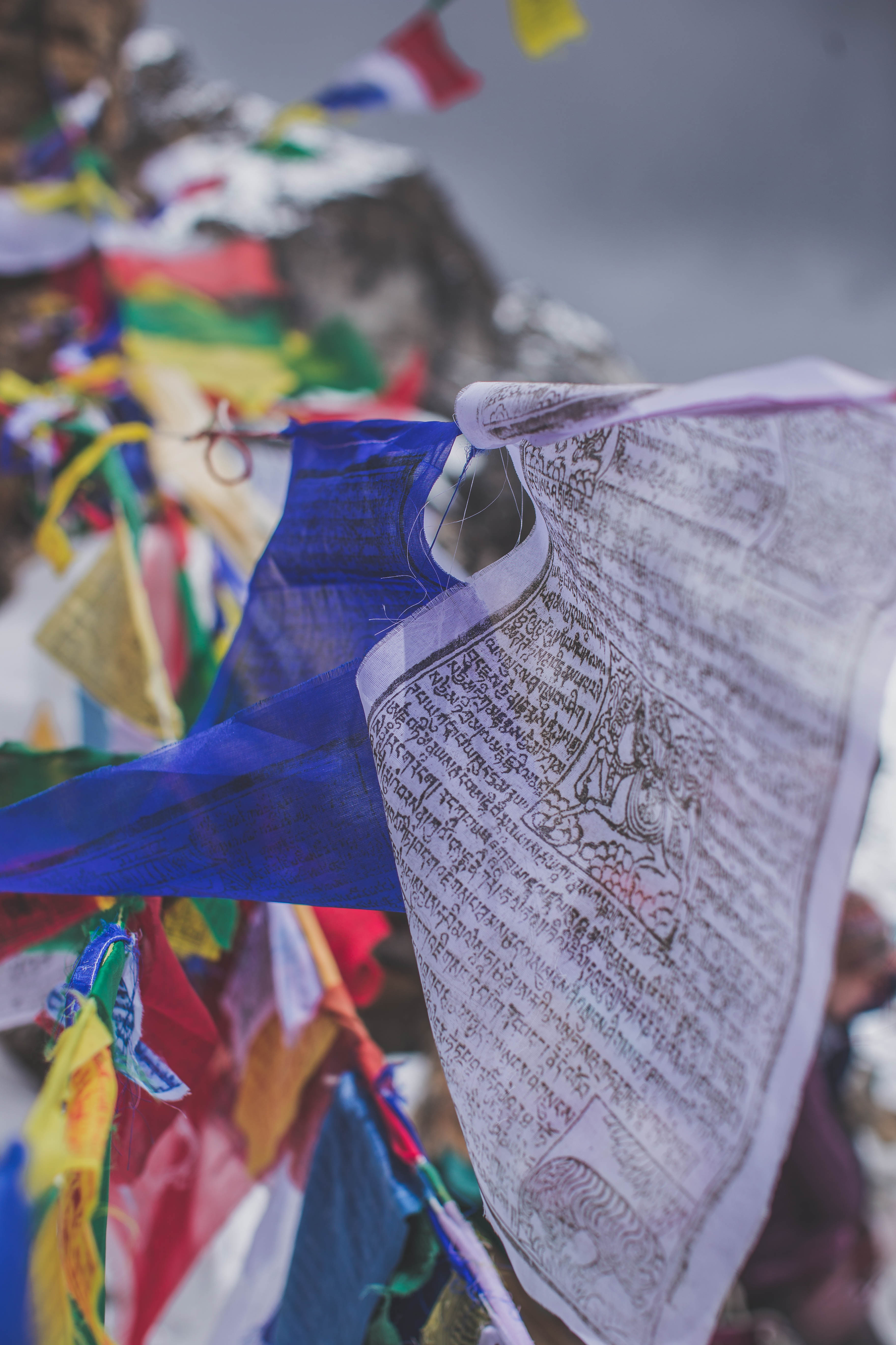 Nepalese prayer flags
