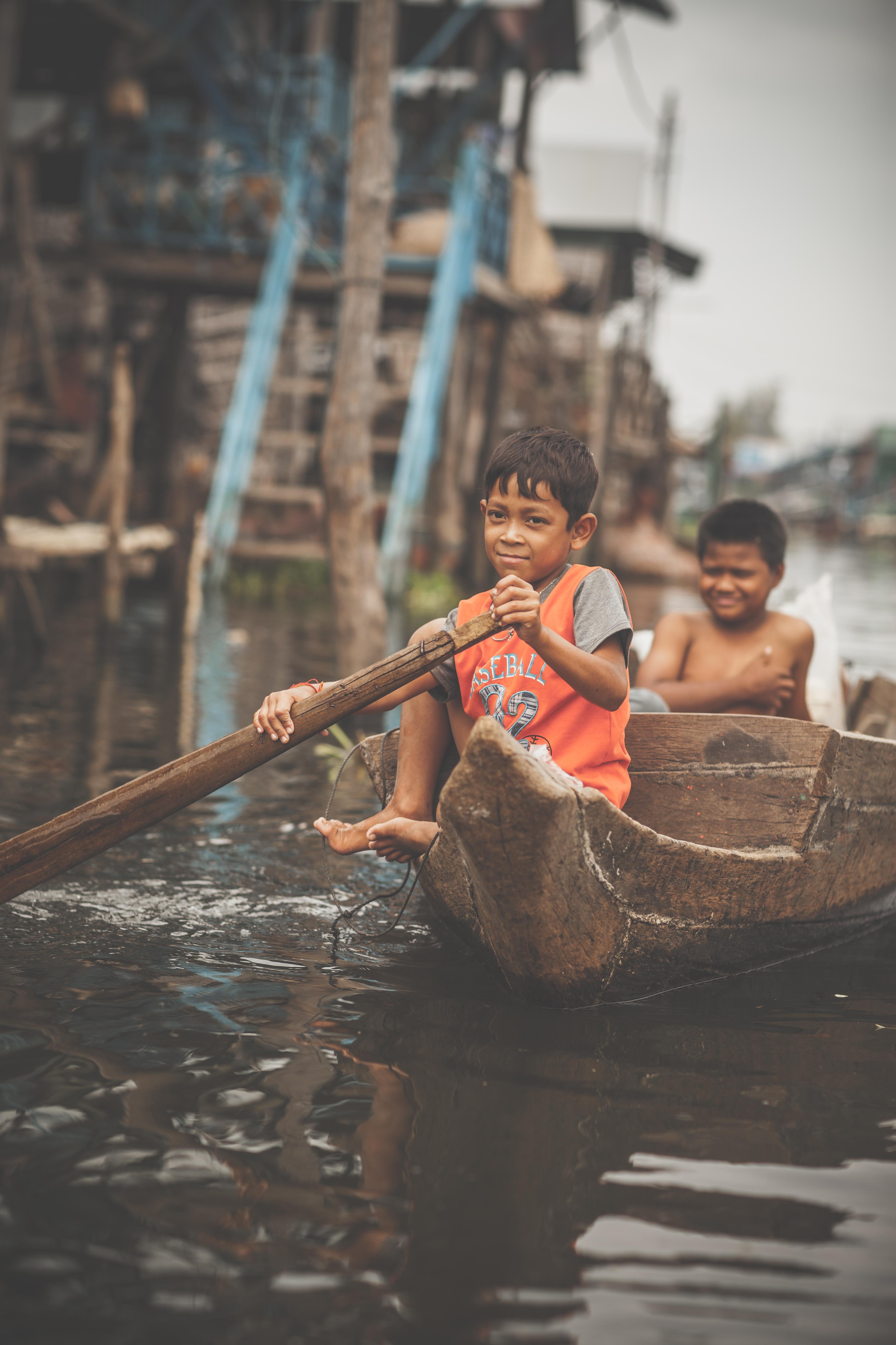 Cambodian boys