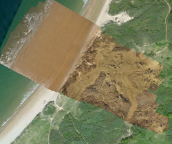 High resolution aerial drone imagery