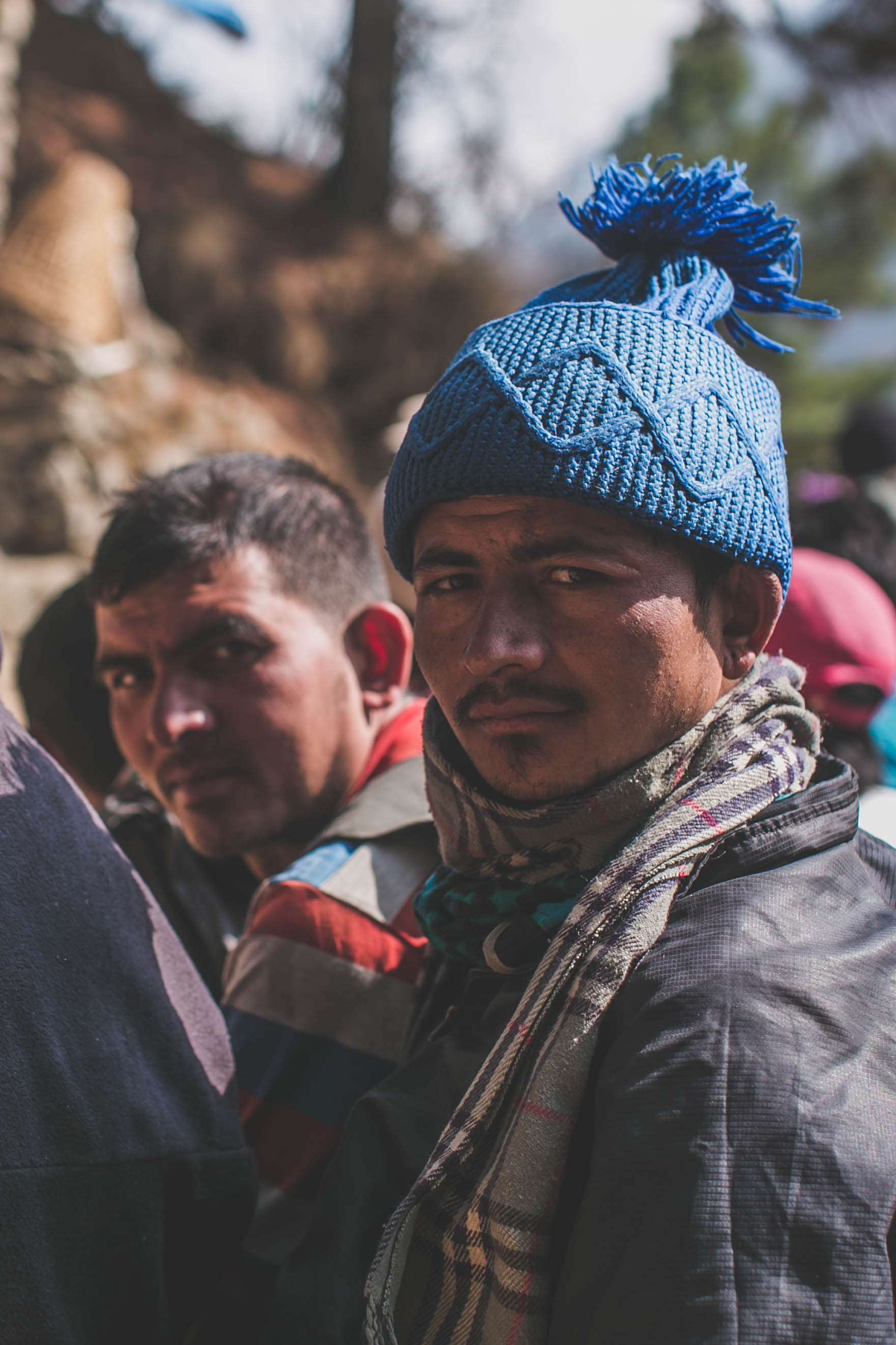 Nepalese porters