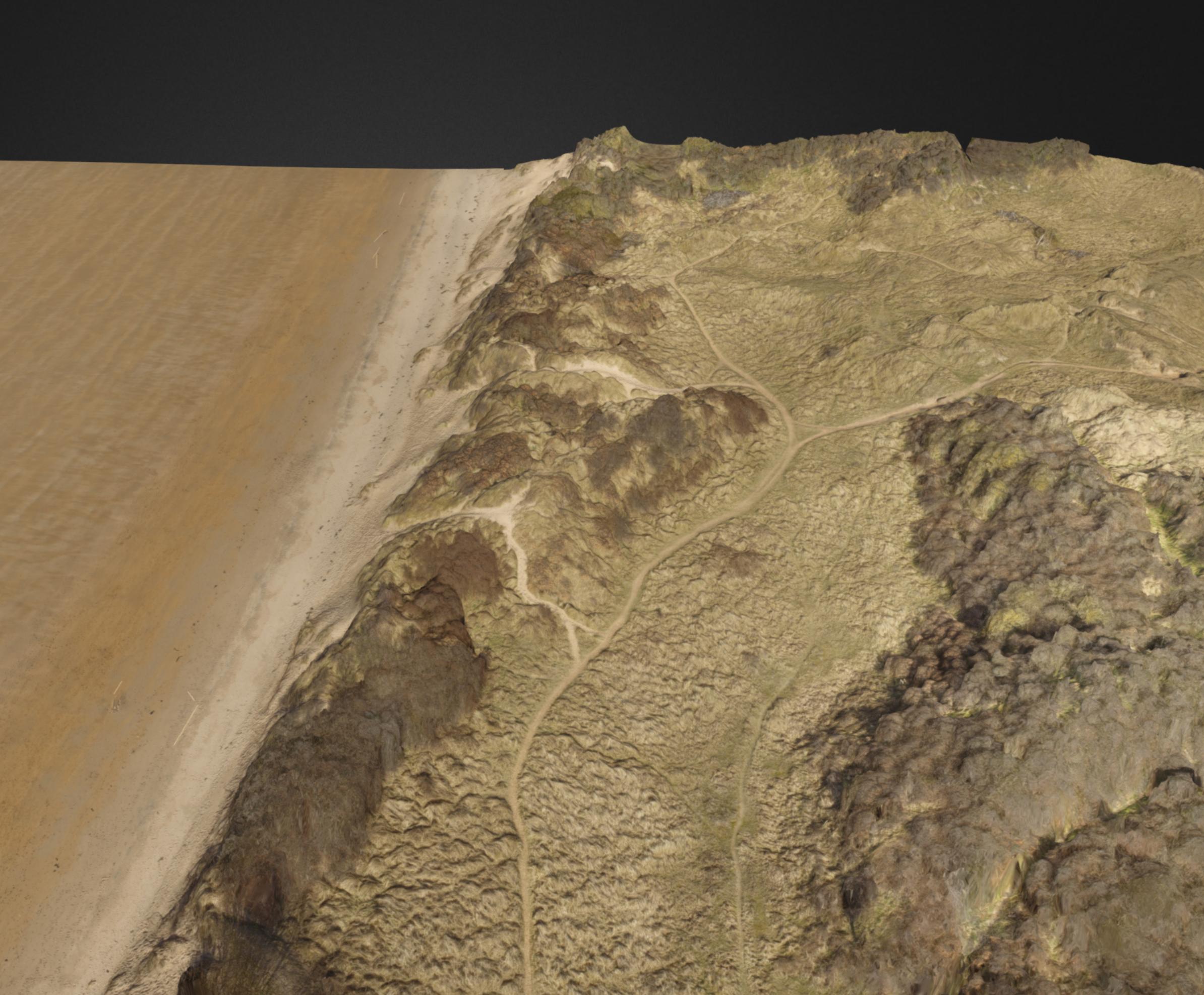 3D vegetation model by drone
