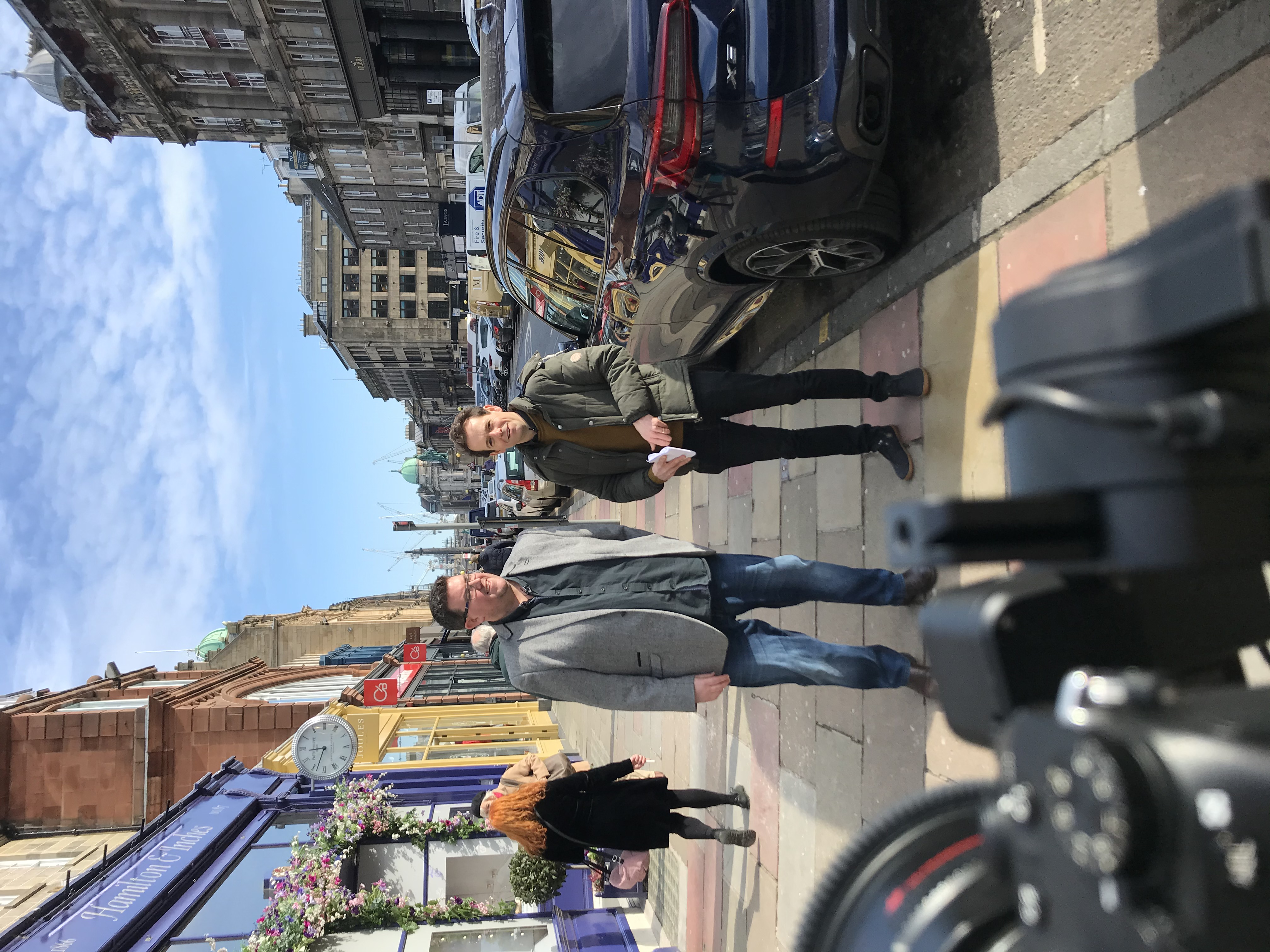 The crowdcube shoot
