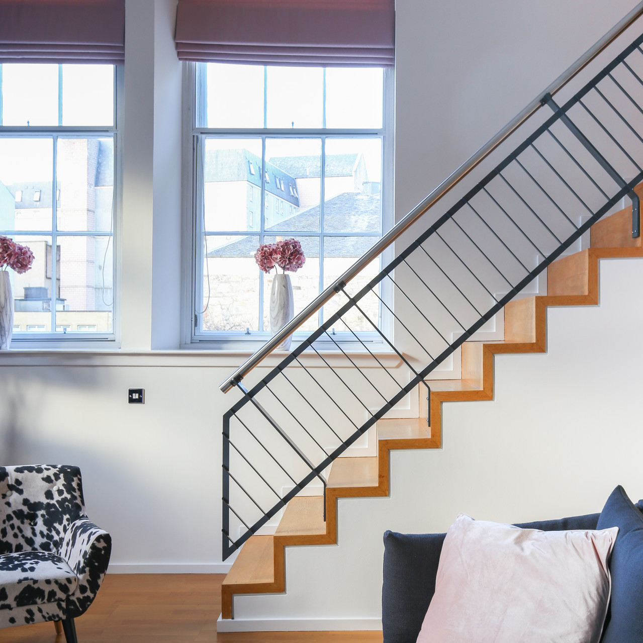 Interior photography staircase
