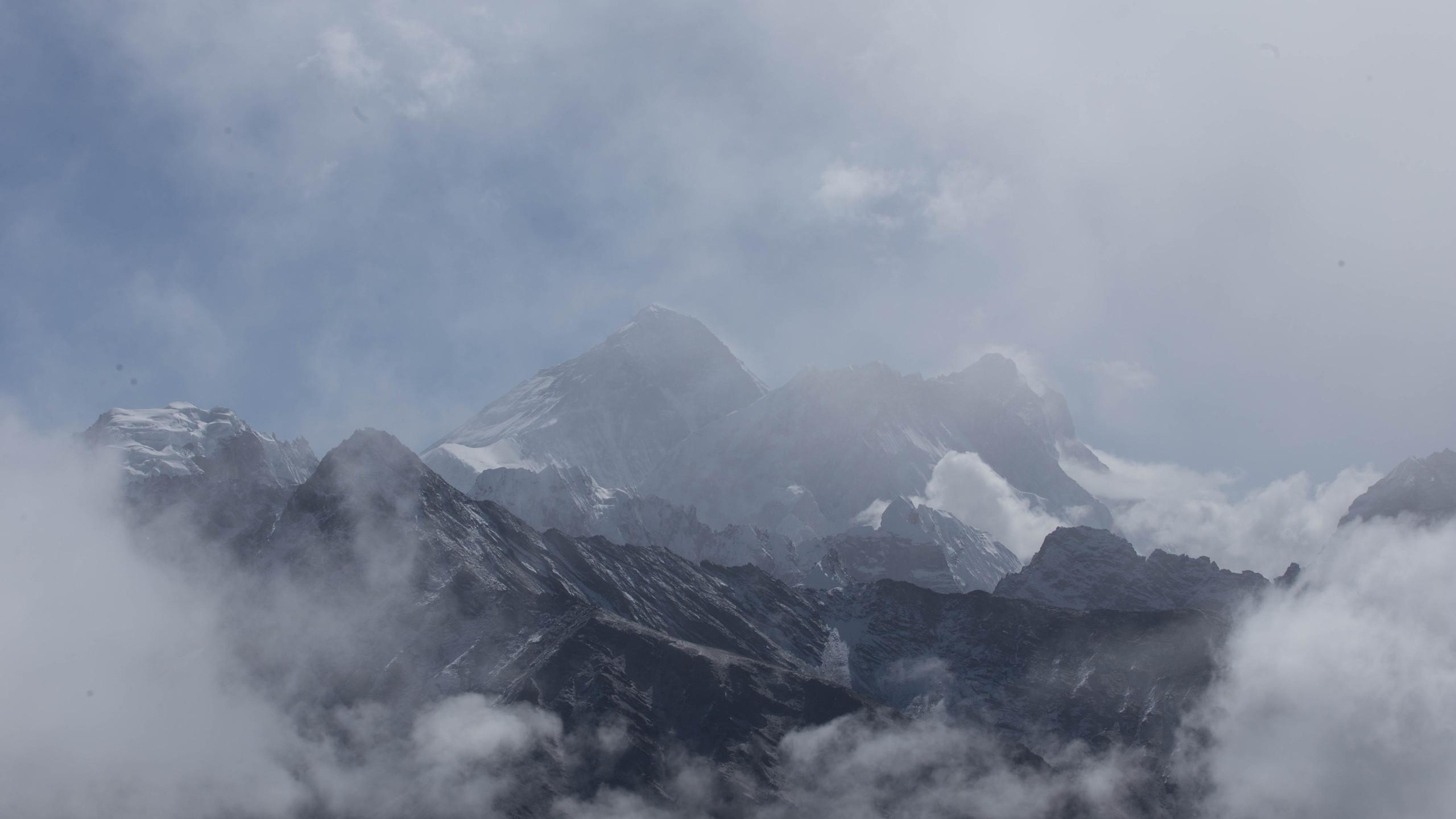 Mount Everest standing proud