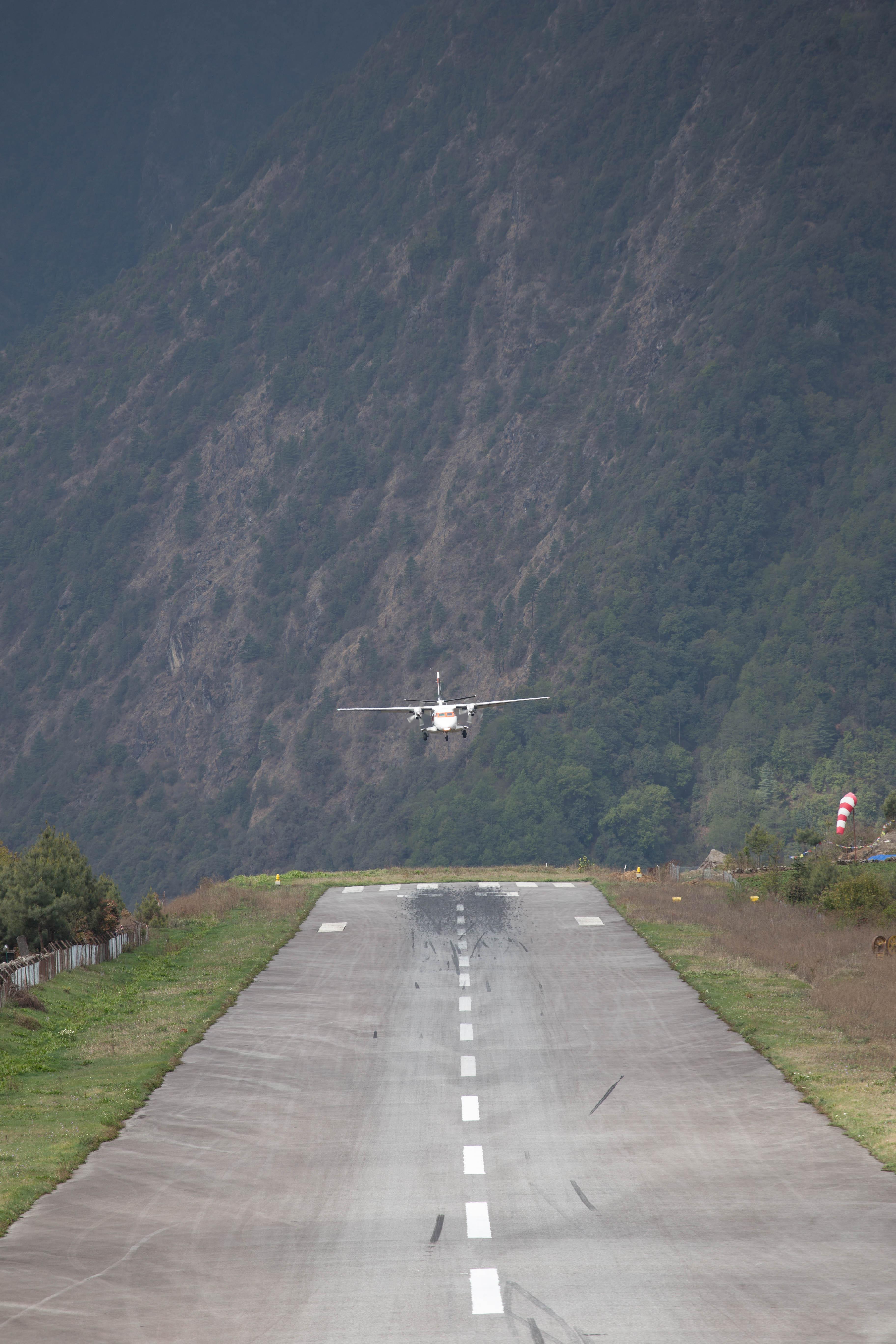 Lukla airport, Nepalese Himalaya