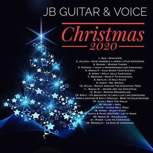 Christmas 2020 - JB Guitar & Voice + $10