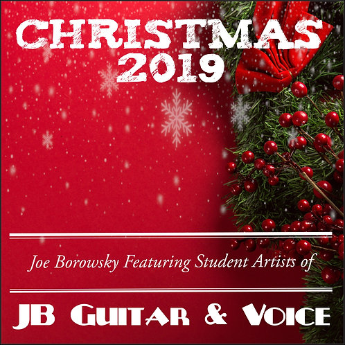 copy of Christmas 2019 - JB Guitar& Voice - $10 + $10 Donation