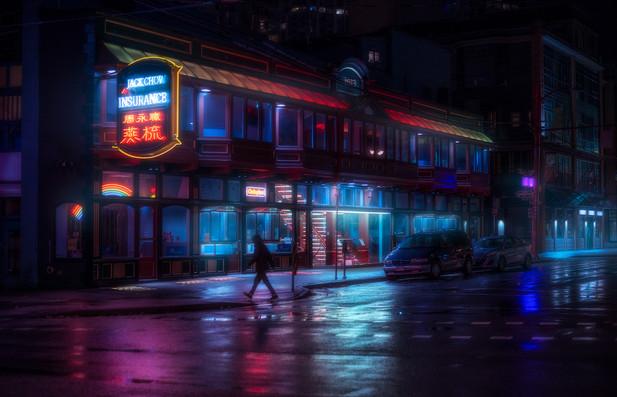 Midnight in Chinatown