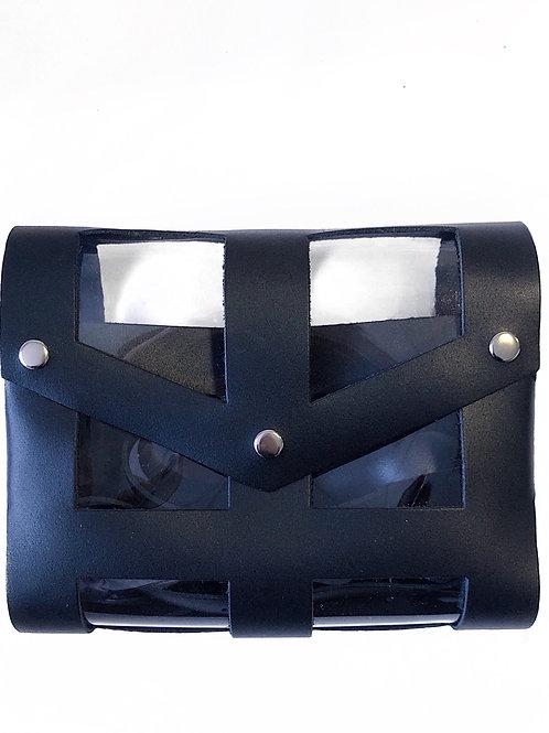 сумка с прозрачным чехлом