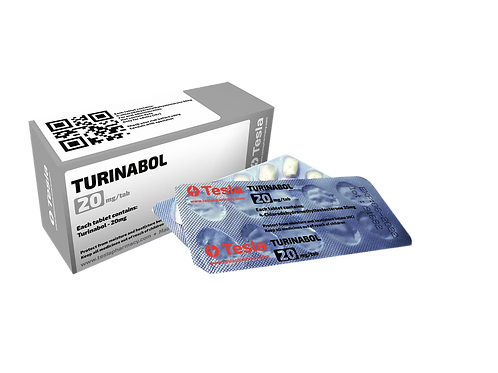 Tesla Pharmacy Turinabol 20mg/tab 50 tab
