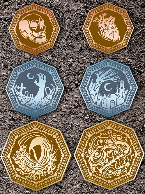 Undead Dragon Scales Gaming Coins (10 Coins)