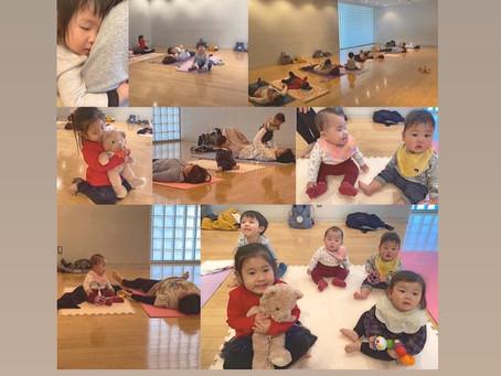 赤ちゃん一緒ヨガオンライン2021年3月