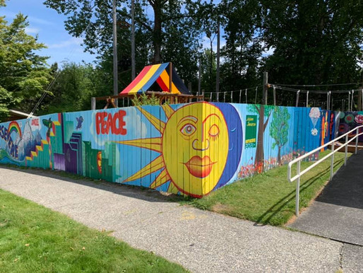 New Mural on Ryther's Campus