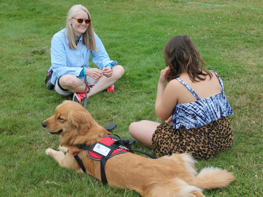 Ryther's Canine Volunteers: A Child's Best Friend!