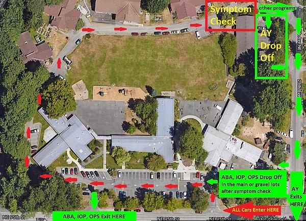 Campus Map Covid Symptom Check - all cam