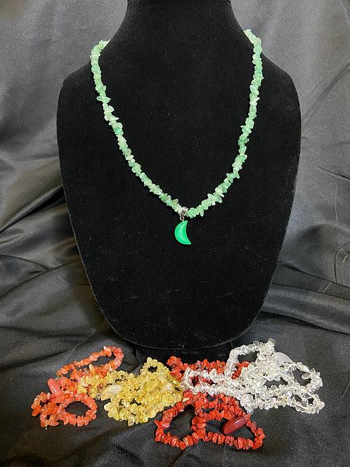 Green (Heart) Chakra Necklace