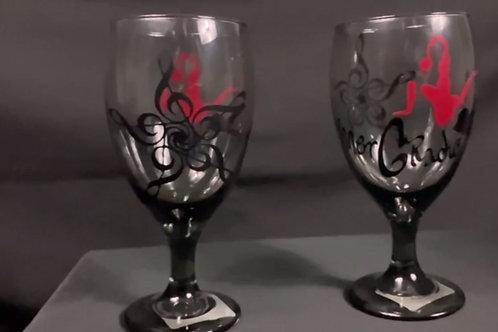 Inner G Radio Wine Glass