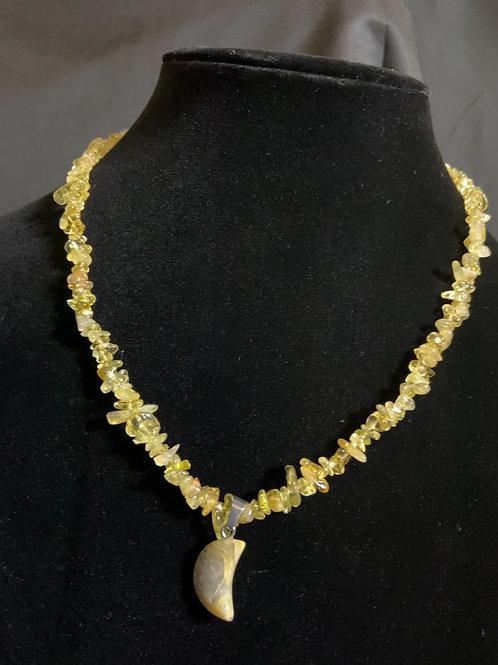 Yellow Chakra Necklace