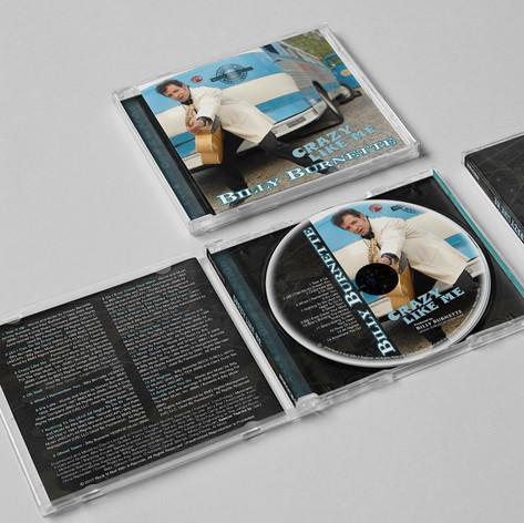 Billy Burnette - Crazy Like Me (Album ar