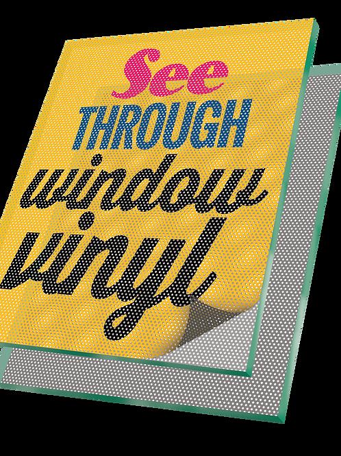 See Through Vinyl Graphics