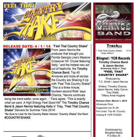 FEEL_THAT_COUNTRY_SHAKE_One-Sheet-Single