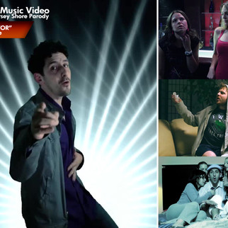 """GRENADE"" MUSIC VIDEO Bruno Mars / Jersey Shore Parody - Art Director"