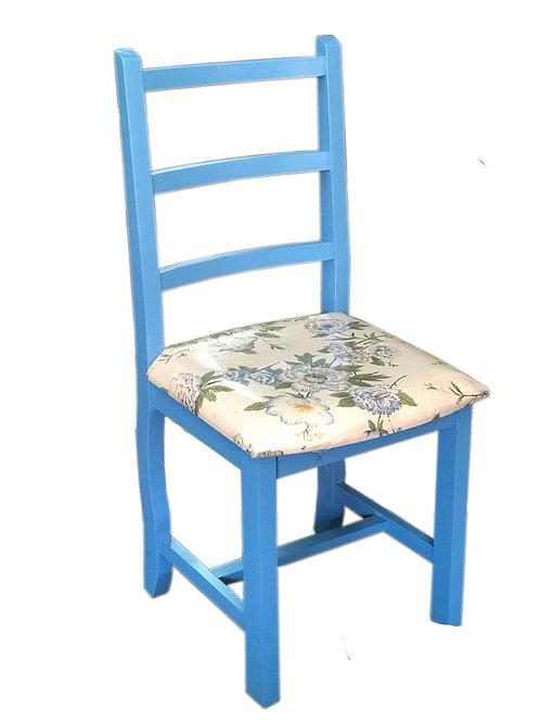 Cadeira romana colorida com estofado