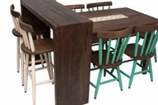Mesa de Jantar com Azulejo