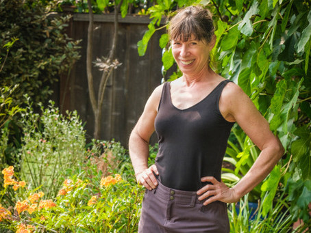 Yoga and Gardening - Interview with Anne Weinberger
