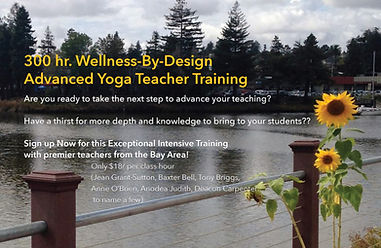 POST Wellness by Design Advanced Yoga Teacher Training