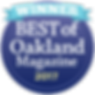 Voted best Yoga Teacher 2017 - Oakland Magazine