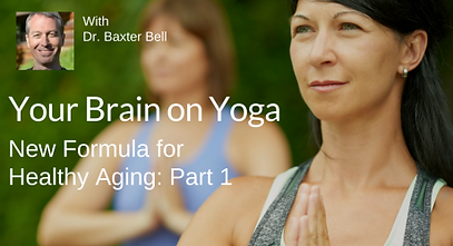 Yoga for Brain Health, audio and video lessons