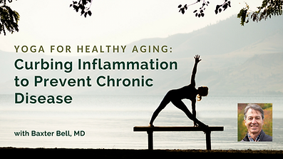 Yoga to reduce inflammation, video and audio lessons