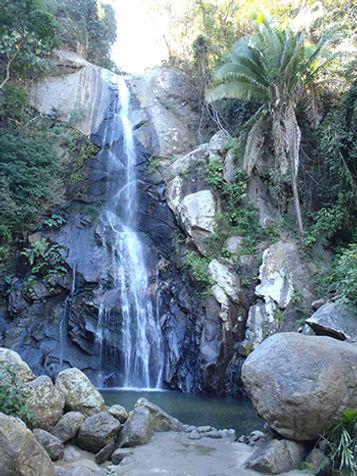 Waterfall in Yelapa