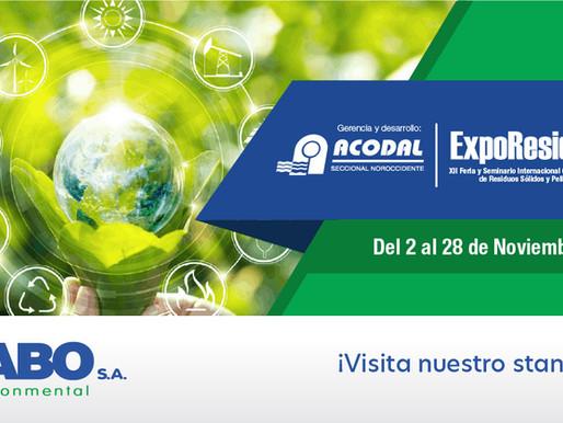 SABO participates at the ExpoResiduos 2020