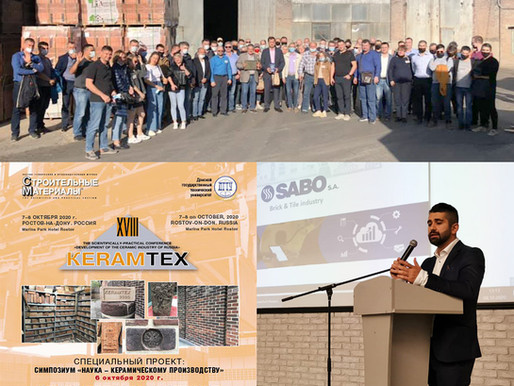 SABO participated in the conference of Russian ceramics KERAMTEX 2020