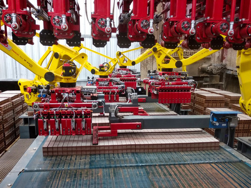 SABO delivers a new setting machine to Meridian Brick.