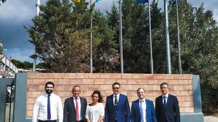 Τhe Ambassador of the Republic of Kazakhstan visited SABO's facilities