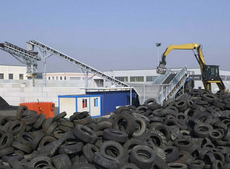 Tyre Recycling Plant for Tritogom, Italy