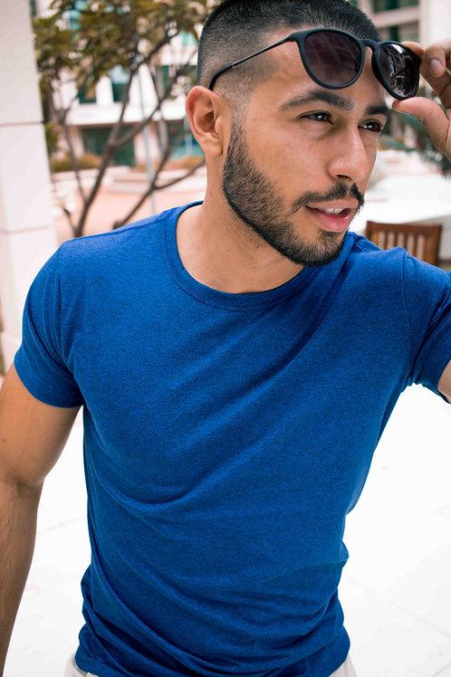 Camiseta Básica - Azul Royal