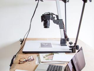 Organising digital photos.