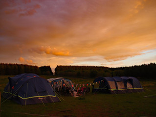 Organising Camping and Outdoor Equipment.