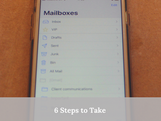 6 steps to Organise your Emails.