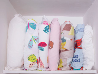 Folding a Fitted Sheet (and other Linen Organisation)