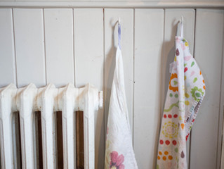 Decluttering and Organising Towels.