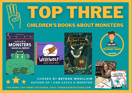 Top Three Children's Book About Monsters