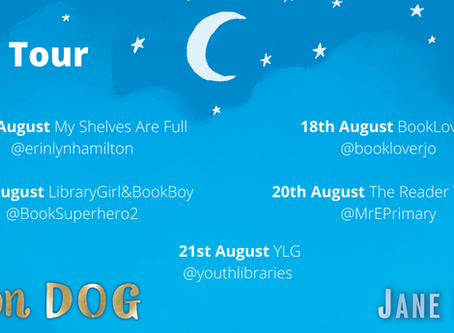 Blog Tour (Review & Guest Post: Peer Pressure): Moon Dog by Jane Elson (Illustrated by Izzy Burton)