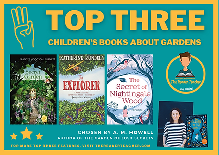 Top Three Children's Book About Gardens